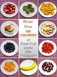 100 cal fruit