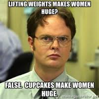 lifting makes you huge