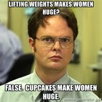 lifting makes you huge
