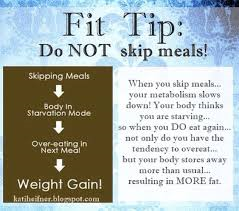 dont skip meals
