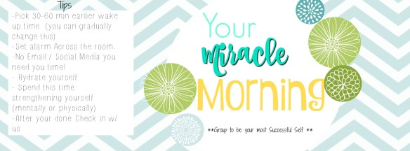 Your miracle morning